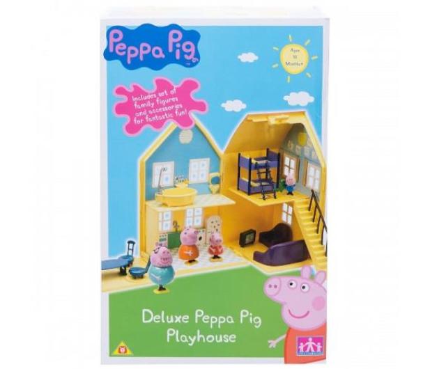 TM Toys Świnka Peppa Domek deluxe z 4 figurkami - 206837 - zdjęcie 6