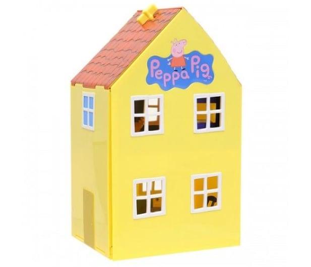 TM Toys Świnka Peppa Domek deluxe z 4 figurkami - 206837 - zdjęcie 3