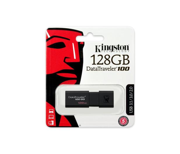 Kingston 128GB DataTraveler 100 G3 (USB 3.0) - 265042 - zdjęcie 5
