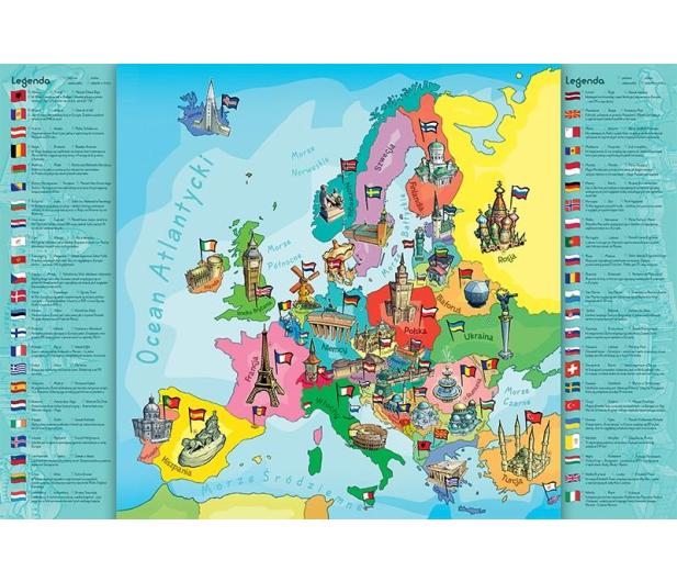 Trefl Mapa Europy - 263330 - zdjęcie 2