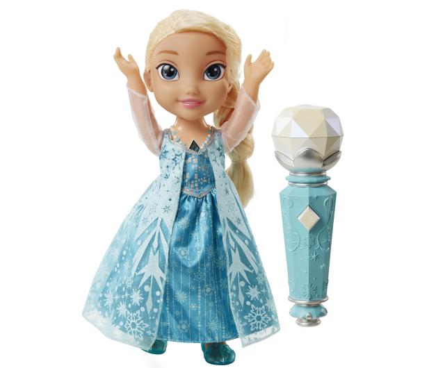Jakks Pacific Disney Frozen Śpiewająca Elsa z mikrofonem - 272739 - zdjęcie 2
