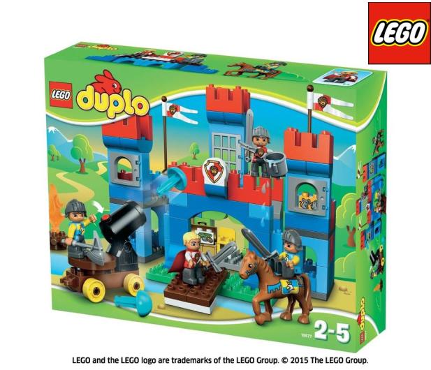 Lego Duplo Zamek Królewski Klocki Lego Sklep Internetowy Alto