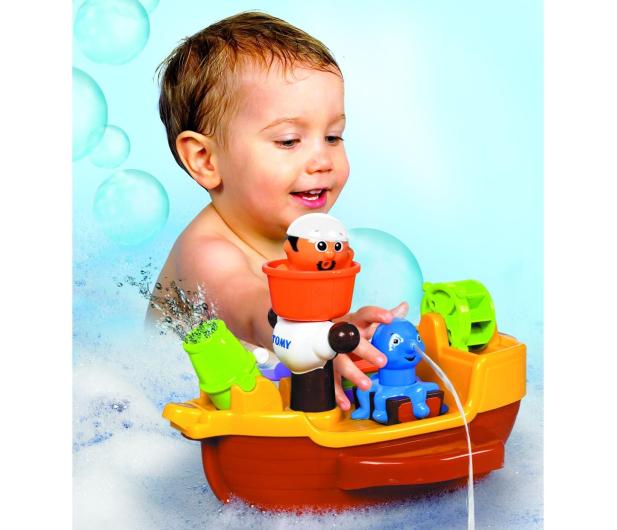 TOMY Statek piratów do kąpieli - 242528 - zdjęcie 3