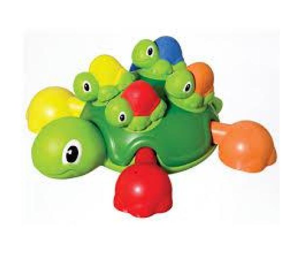 TOMY Toomies Żółwie brzdące  - 242907 - zdjęcie