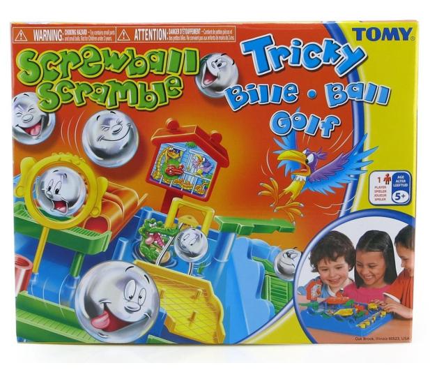 TOMY Games Tor przeszkód - 242414 - zdjęcie