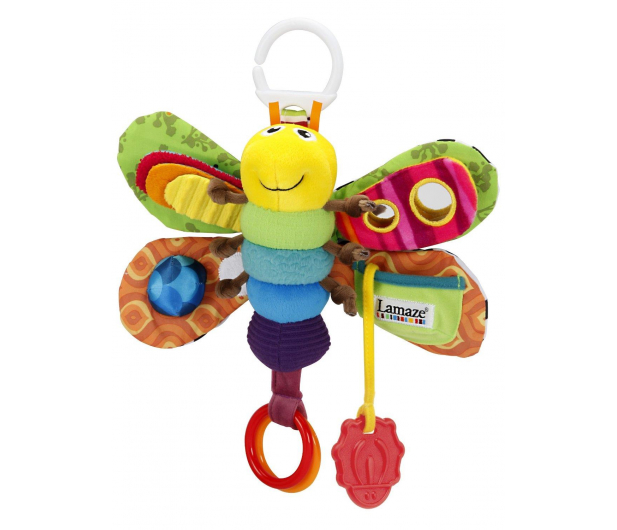 TOMY Lamaze Motylek Freddie - 242909 - zdjęcie 5