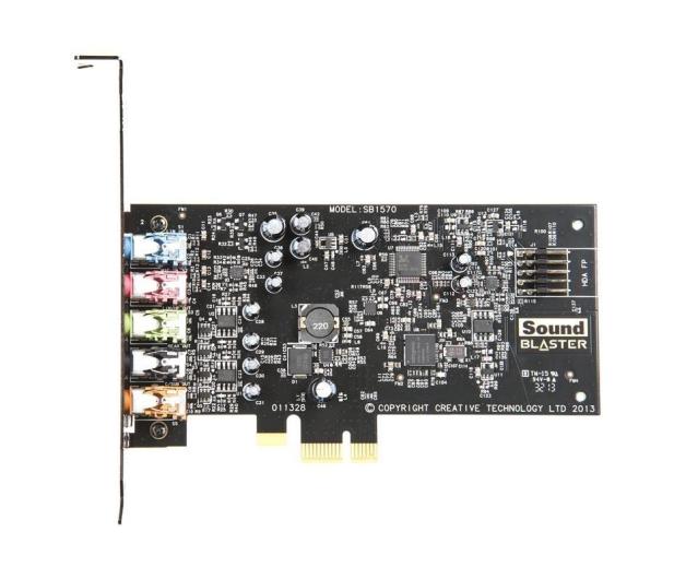 Creative Sound Blaster Audigy FX (PCIE) OEM - 366895 - zdjęcie 2