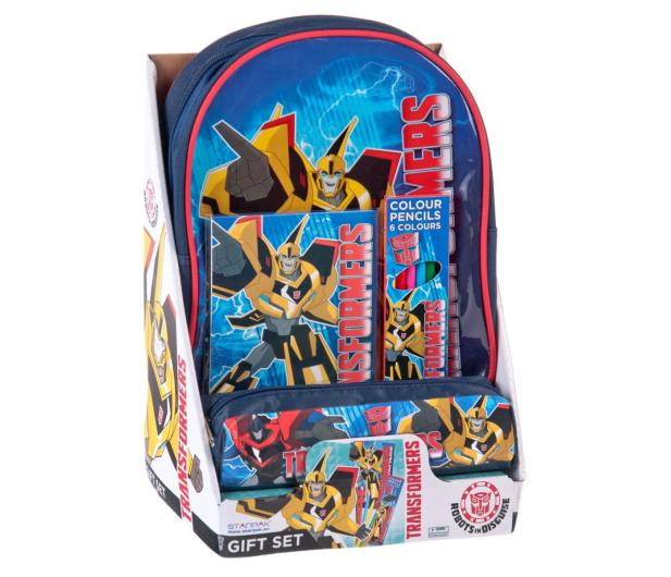 7fb021488aa3c Starpak Zestaw Prezentowy Plecak i akcesoria Transformers - 238318 - zdjęcie