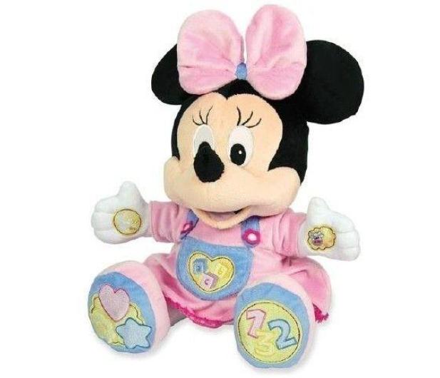 Clementoni Disney Ucząca Minnie pluszowa  - 175056 - zdjęcie