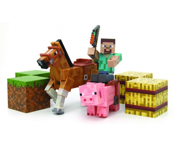 8e3afcfce TM Toys Minecraft Steve Saddle pack delux - Figurki - Sklep ...