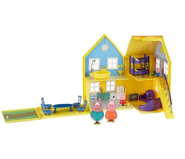TM Toys Świnka Peppa Domek deluxe z 4 figurkami - 206837 - zdjęcie 2