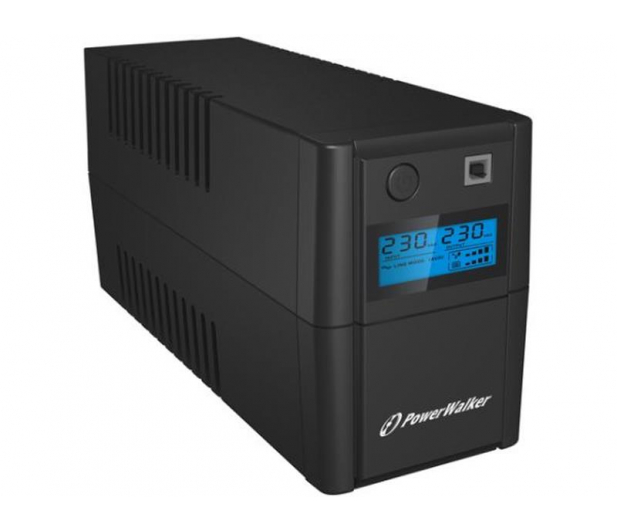 Power Walker VI 850 SE LCD (850VA/480W) 2xPL USB LCD - 208707 - zdjęcie 2