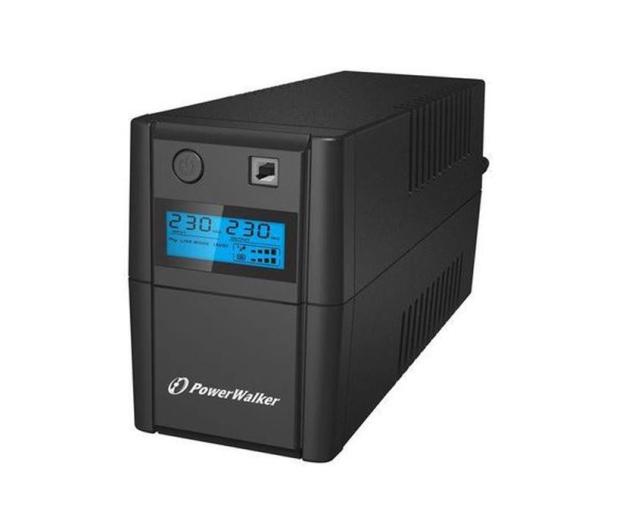 Power Walker VI 850 SE LCD (850VA/480W) 2xPL USB LCD - 208707 - zdjęcie 3