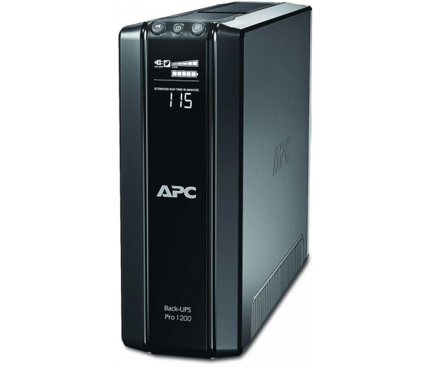 APC Back-UPS Pro 1200 (1200VA/720W, 6xPL, AVR, LCD) - 62924 - zdjęcie