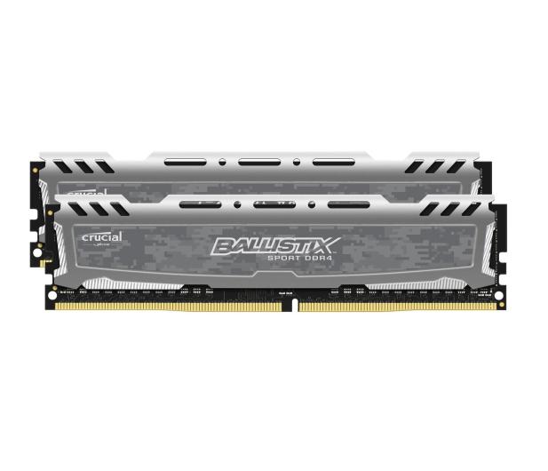 Crucial 8GB (2x4GB) 2400MHz CL16 Ballistix Sport LT Gray - 230148 - zdjęcie 2
