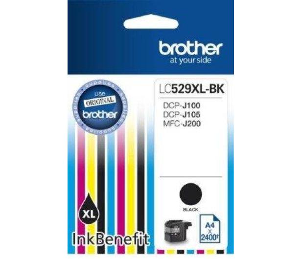 Brother LC529XLBK black 2400str. - 180540 - zdjęcie