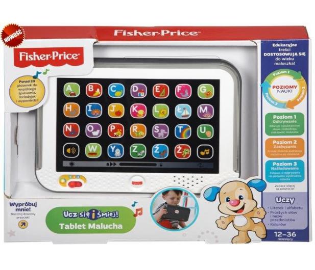 Fisher-Price Tablet Malucha - 254874 - zdjęcie 3