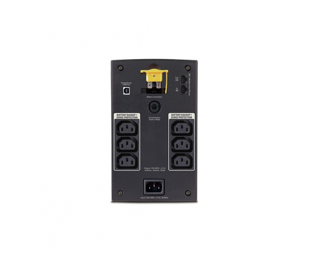 APC BACK-UPS - 1400VA/700W, 6xIEC, AVR - 255459 - zdjęcie 2