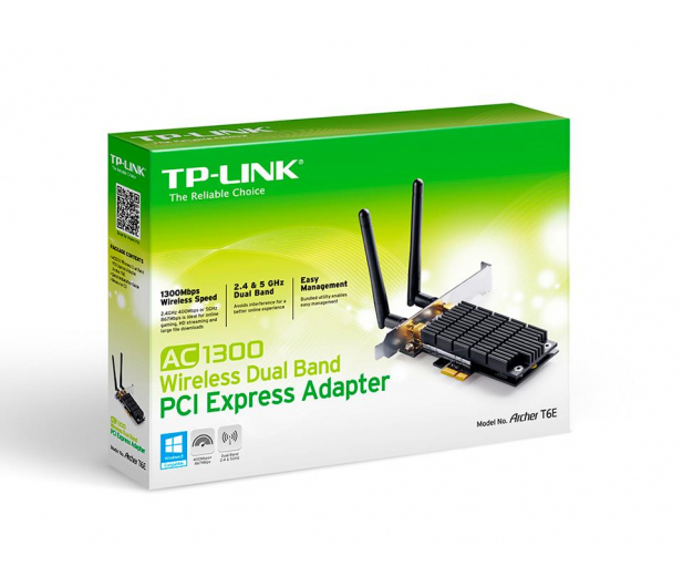 TP-Link Archer T6E (802.11b/g/n/ac 1300Mb/s) DualBand - 260560 - zdjęcie 5