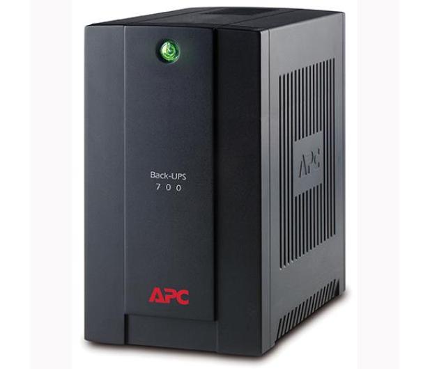 APC Back-UPS (700VA/390W, 4xIEC, RJ-45,USB, AVR) - 260374 - zdjęcie