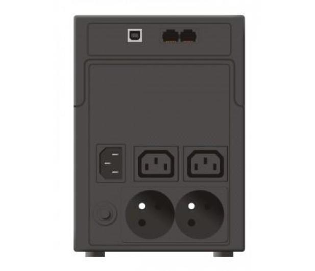 Ever EASYLINE 1200 (1200VA/600W) 2xPN-E  2xIEC AVR USB - 261911 - zdjęcie