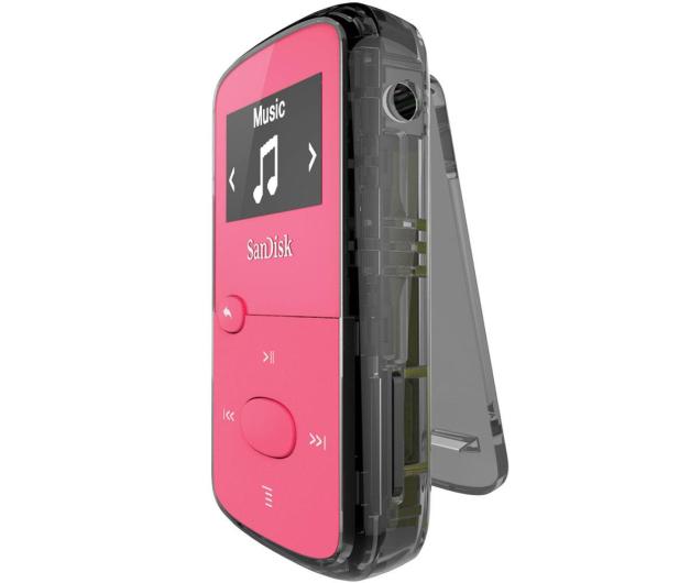 SanDisk Clip Jam 8GB różowy - 254110 - zdjęcie 3