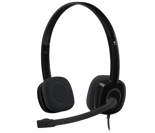Logitech H151 Headset z mikrofonem - 257567 - zdjęcie