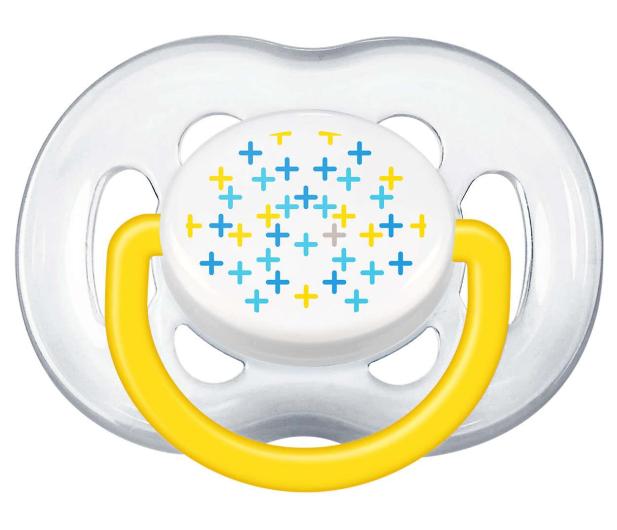 Philips Avent Smoczek Ortodontyczny 6-18m+ 2szt Żółty - 330621 - zdjęcie 3
