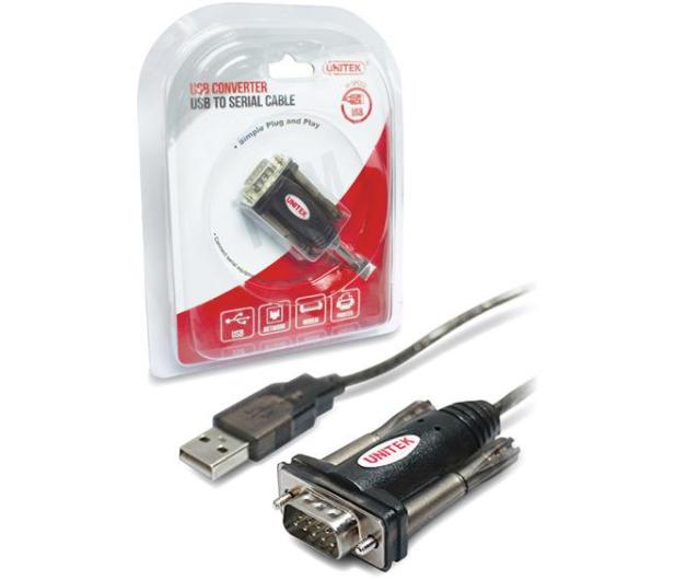 Unitek Adapter USB - RS-232 - 330877 - zdjęcie