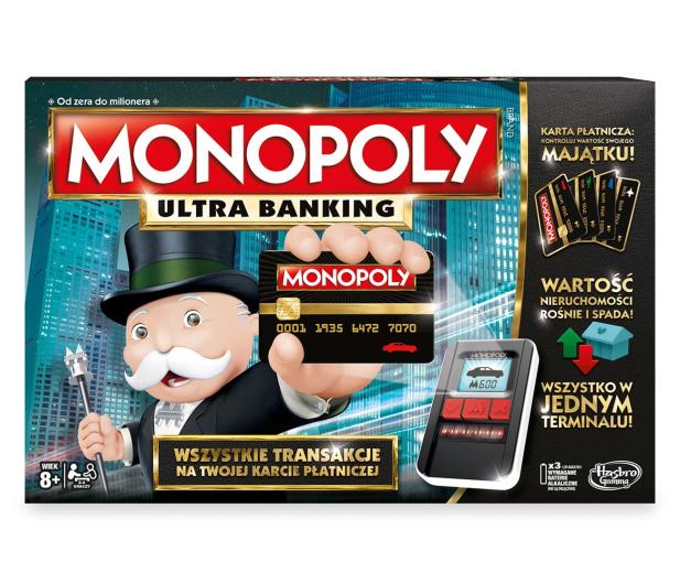 Hasbro Monopoly Ultra Banking - 325295 - zdjęcie 2