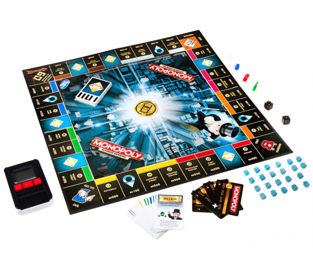 Hasbro Monopoly Ultra Banking - 325295 - zdjęcie 3