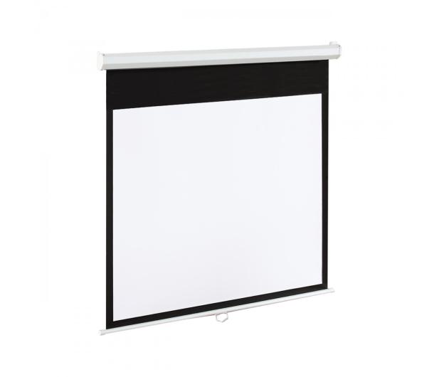 ART Ekran elektryczny 120' 244x183 4:3 Biały Matowy - 336423 - zdjęcie