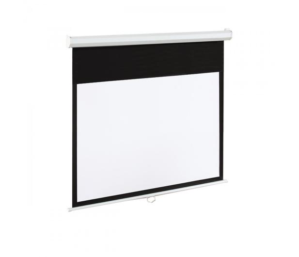 ART Ekran elektryczny 84' 186x105 16:9 Biały Matowy  - 336427 - zdjęcie