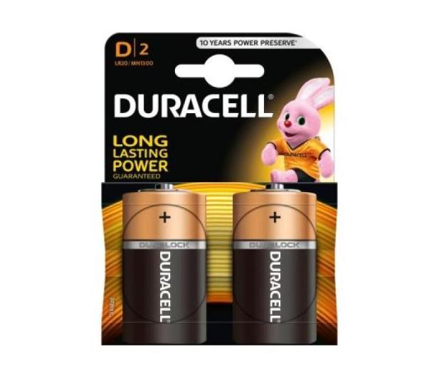 Duracell Basic LR20 2 szt - 329065 - zdjęcie