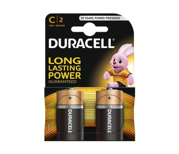 Duracell Basic C/LR14 2 szt. - 329064 - zdjęcie