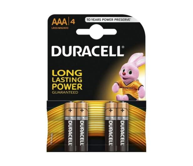 Duracell Basic AAA/LR03 4 szt. - 329063 - zdjęcie