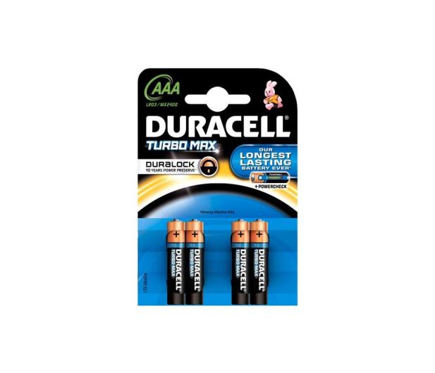 Duracell Turbo AAA/LR03 4 szt. - 329074 - zdjęcie