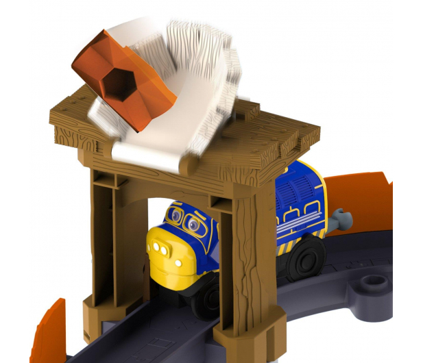 TOMY Stacyjkowo Bruno i wielki głaz + lokomotywka - 268679 - zdjęcie 2