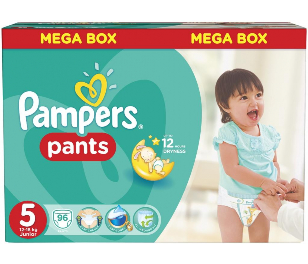 Pampers Pieluchomajtki Active Baby 5 Junior 11-18kg  96szt - 258030 - zdjęcie