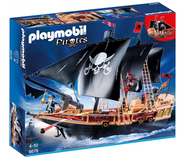 PLAYMOBIL Piracki statek bojowy - 338053 - zdjęcie 2
