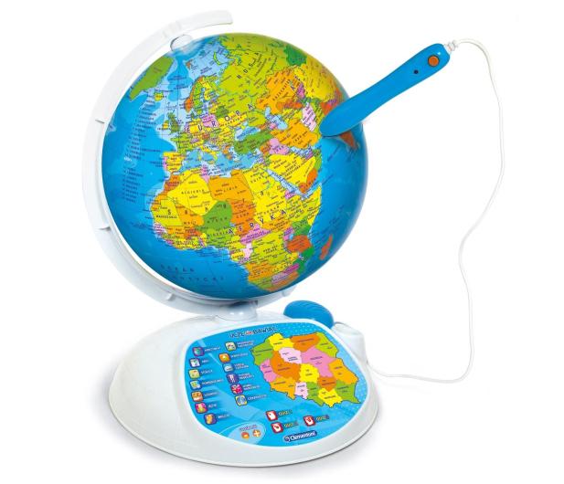 Clementoni Interaktywny EduGlobus Poznaj świat - 264734 - zdjęcie 4