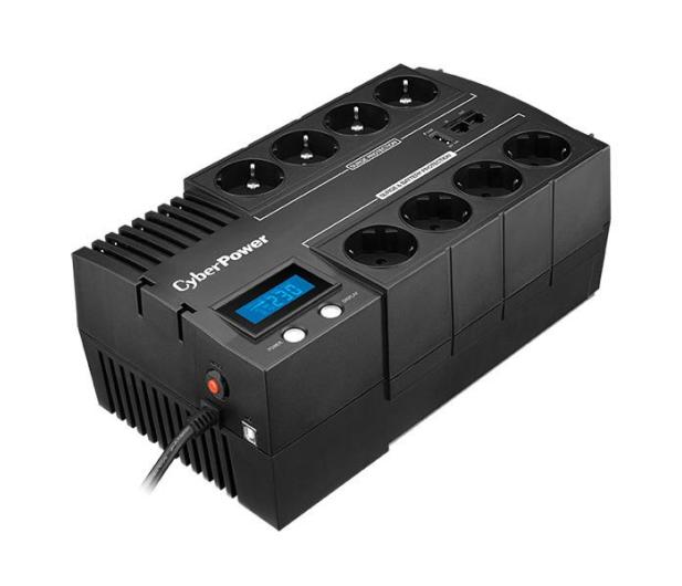 CyberPower UPS BR700ELCD-FR (700VA/420W, 8xFR, AVR) - 338486 - zdjęcie