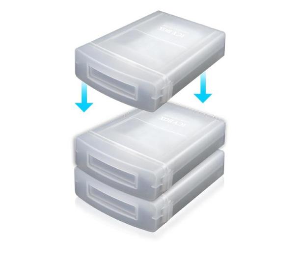 """ICY BOX Etui do dysku 3.5"""" - 281946 - zdjęcie 2"""