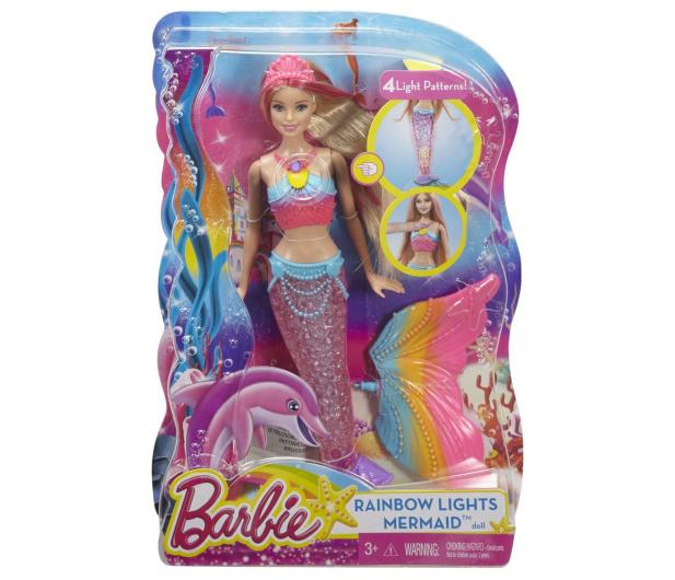 Barbie Tęczowa Syrenka - 282959 - zdjęcie 6