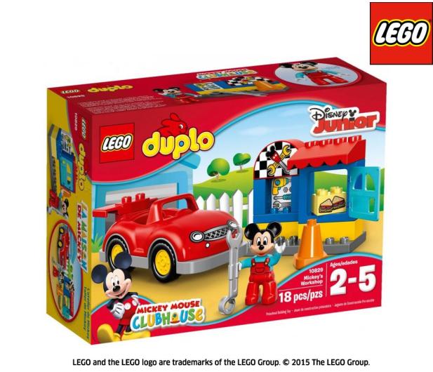 Lego Duplo Warsztat Myszki Miki Klocki Lego Sklep Internetowy
