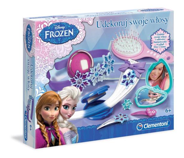 Clementoni Frozen Udekoruj swoje włosy  - 284720 - zdjęcie