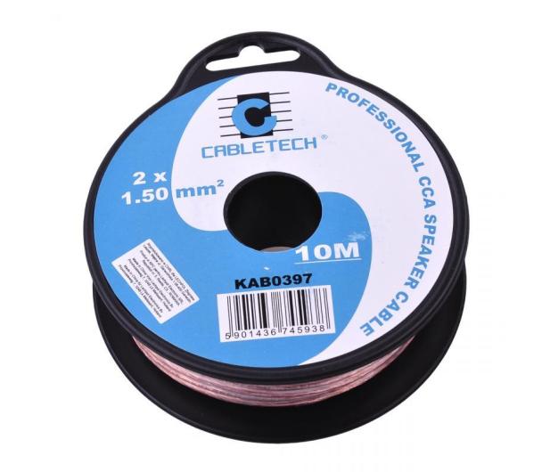 CABLETECH Kabel Głośnikowy CCA 1.5mm 10M - 291852 - zdjęcie