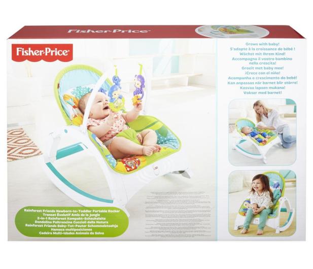 """Fisher-Price Fotelik bujaczek """"Od Niemowlaka do Przedszkolaka"""" - 290776 - zdjęcie 7"""