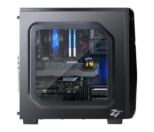 Zalman Z1 NEO czarna z oknem USB 3.0 - 292575 - zdjęcie 4