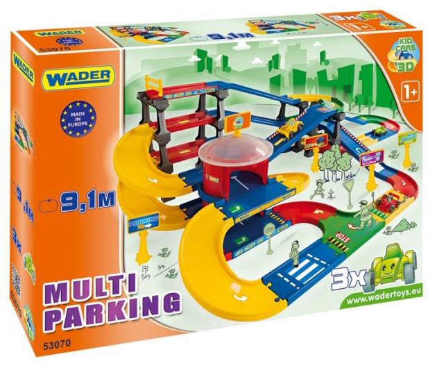 Wader Kid Cars 3d - Multi parking z trasą 9,1 m - 175555 - zdjęcie 4